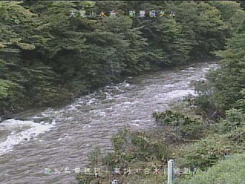 大入川川合水位局ライブカメラ画像. 2018/09/08 11:25