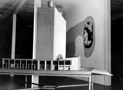 Detalhe de maquete presente na a Exposição Nacional do Estado Novo