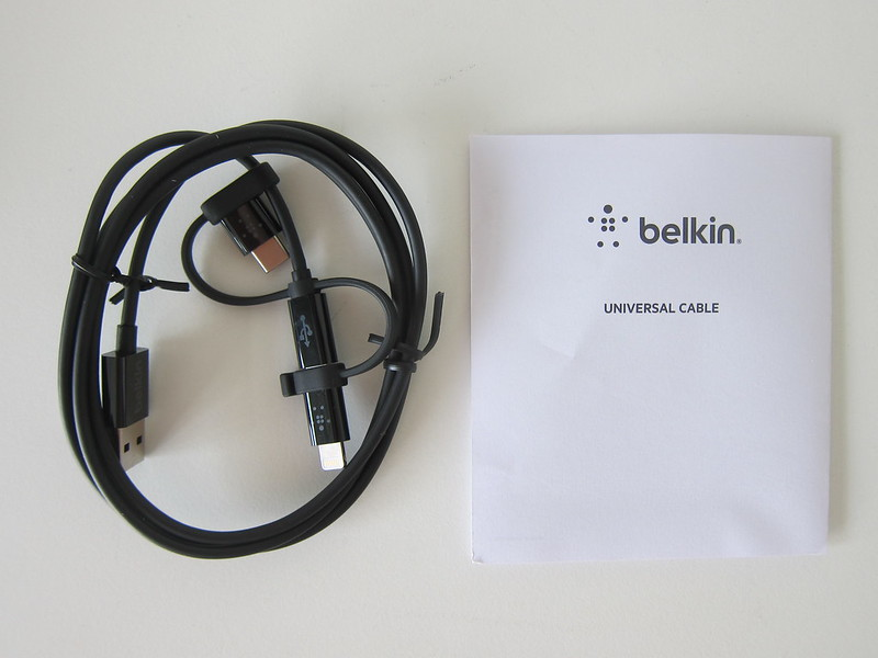 Belkin Universal Cable - Box Contents