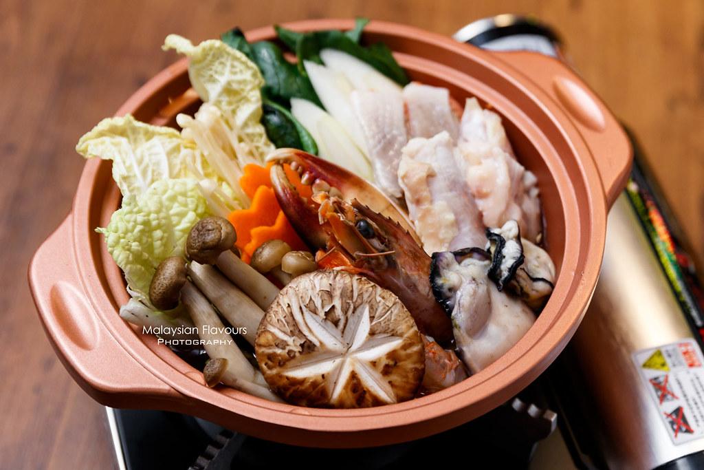 mix seafood nabe