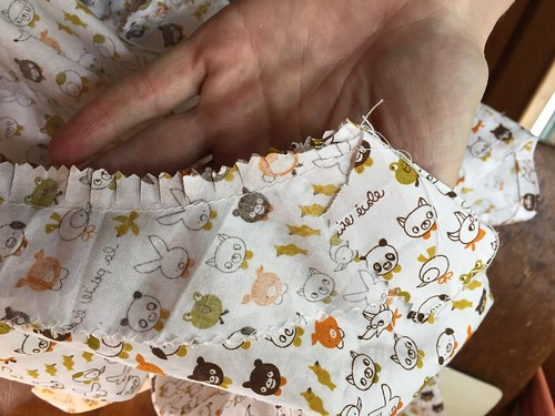 kawaii fabric summer shirt facing sewing woven cotton