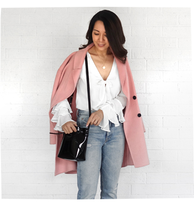 Pink Coat from Zara