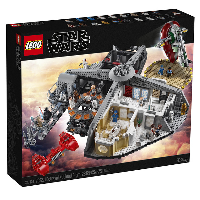 "LEGO Announces Star Wars Master Builder Series With ""Betrayal At Cloud City"""
