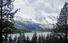 Stormy Day at June Lake, Sierra Nevada Range, CA 2017
