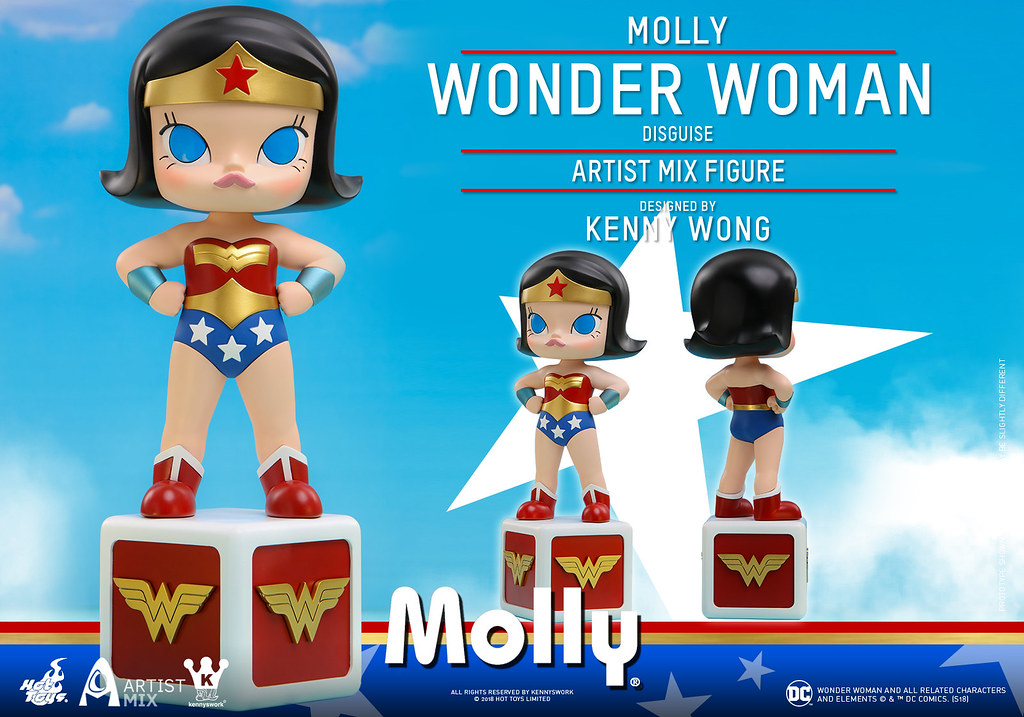 Hot Toys – AMC029 -【Molly (偽裝神力女超人) 】Molly (Wonder Woman Disguise) Artist Mix Figure Designed by Kenny Wong
