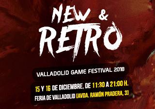 NEW & RETRO Valladolid GAME FESTIVAL 15 y 16 de diciembre
