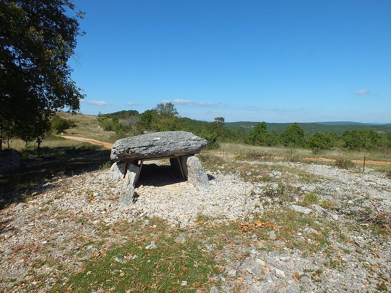 Gréalou - Dolmen du Pech-Laglayre 2