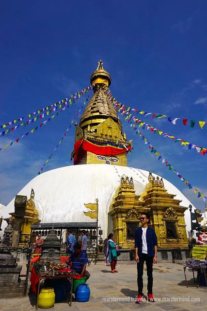 marxtermind at Swayambhunath Stupa Nepal
