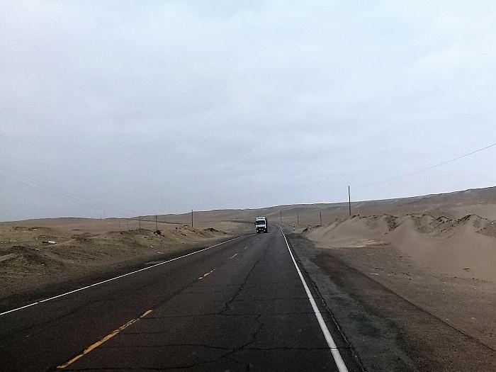 Atacama Desert between Nazca and Atico