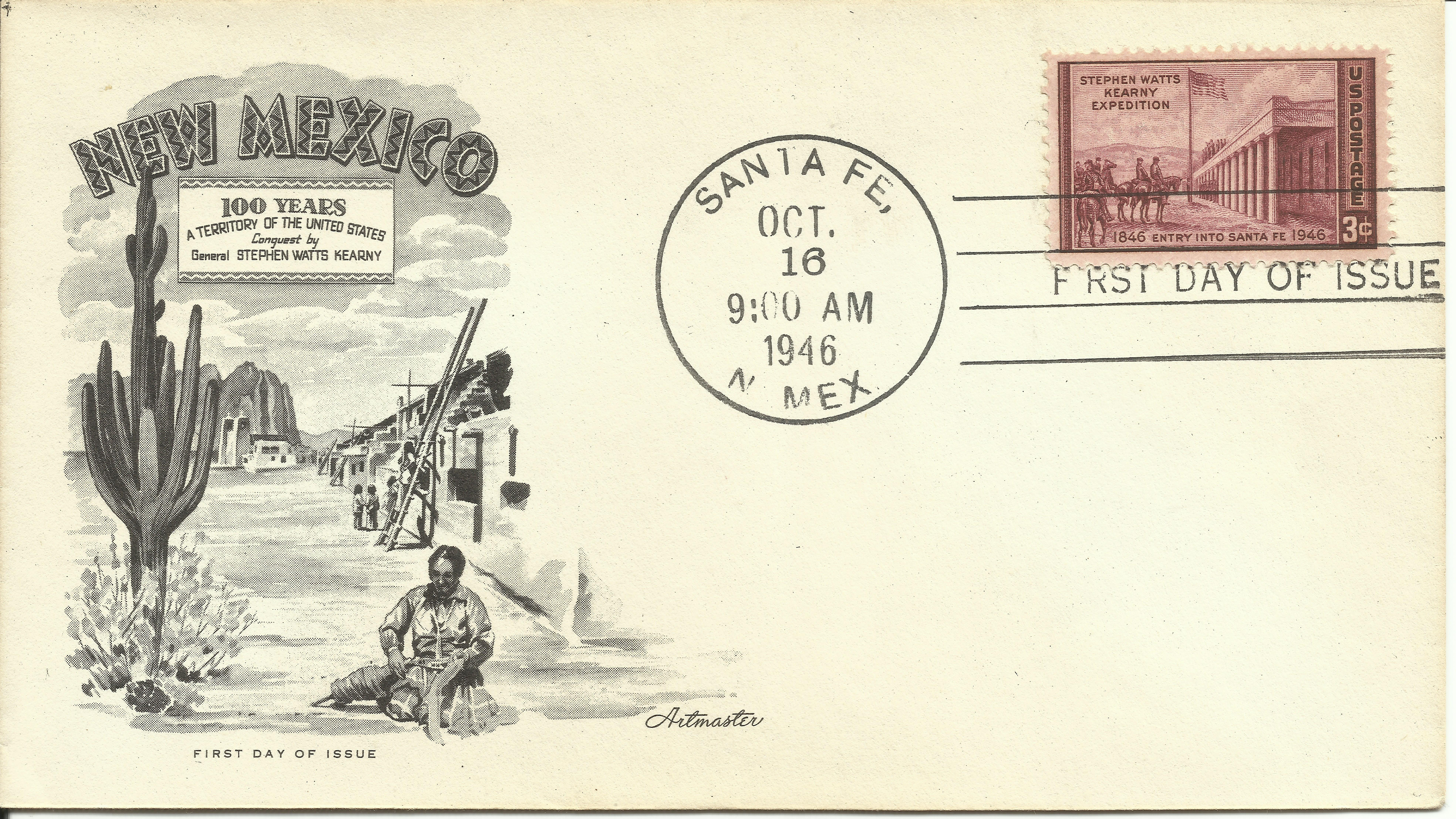 United States - Scott #944 (1946) first day cover
