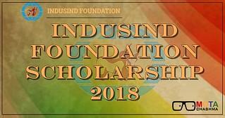 indusind scholarship