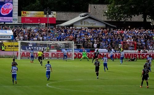 SV Meppen 1:3 F.C. Hansa Rostock