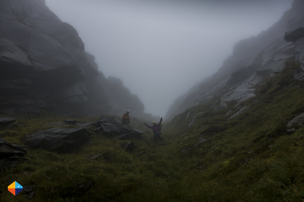 The down climb