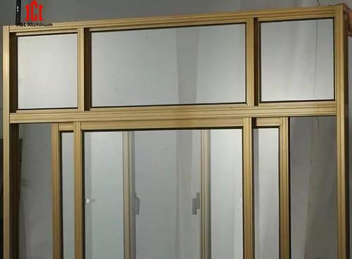 Aluminum doors and windows four
