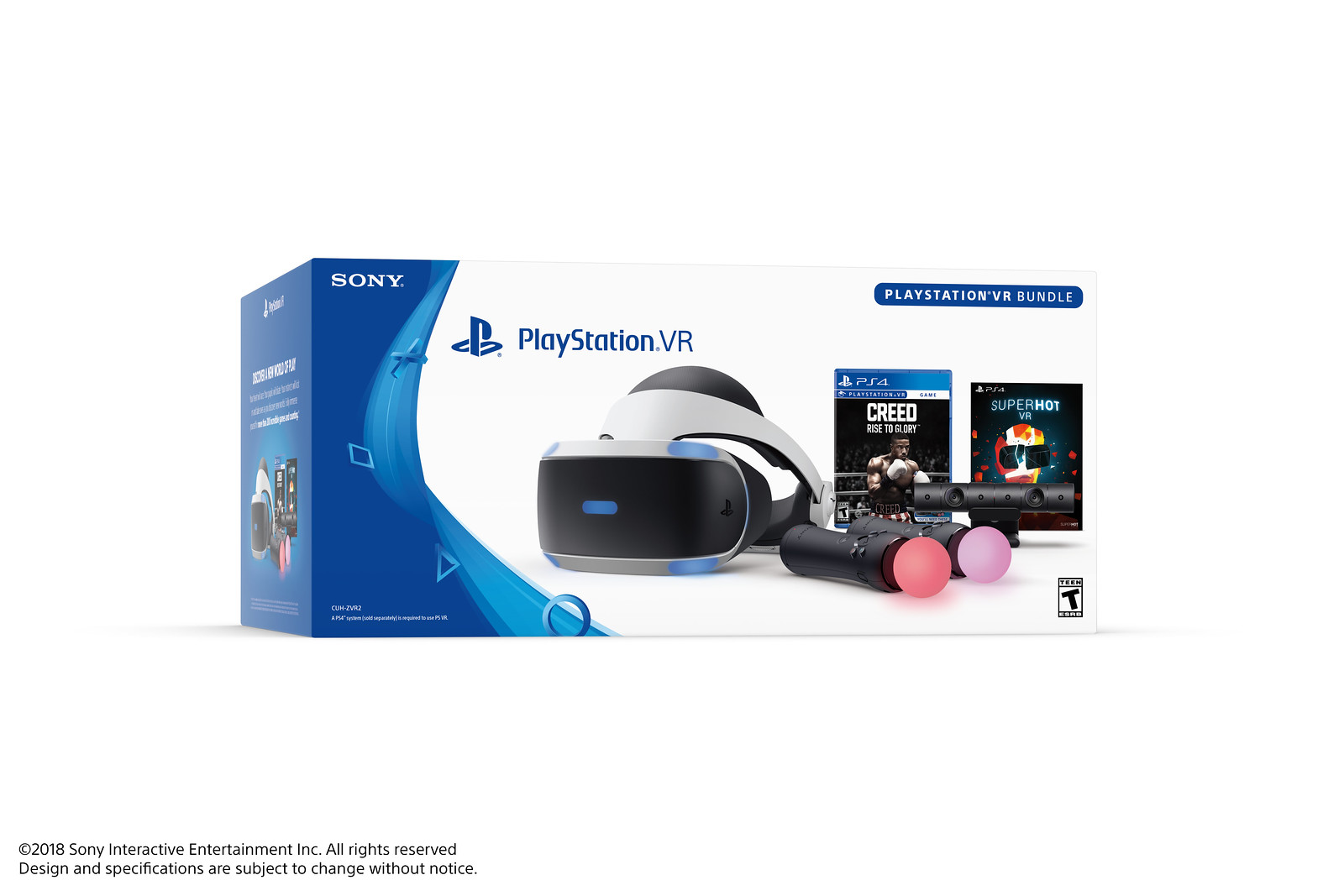 PlayStation VR Bundle: Creed: Rise to Glory & Superhot VR