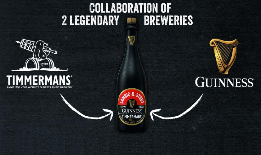 Timmermans и Guinness выпустили совместное пиво