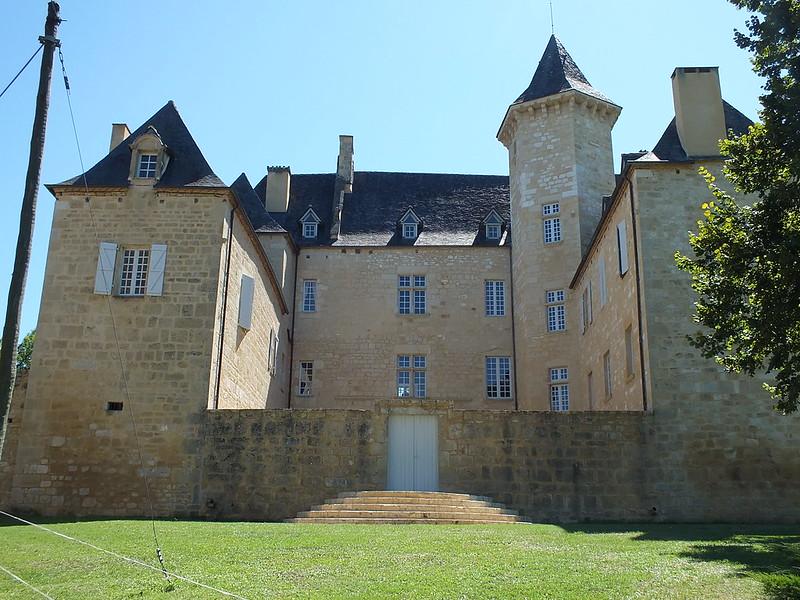 [209-003] Nadaillac-de-Rouge - Château (bourg)