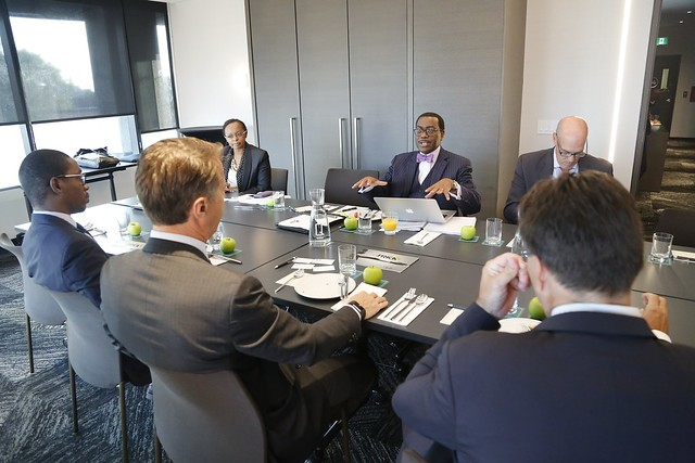 African Development Bank President's mission to Canada, Day 2