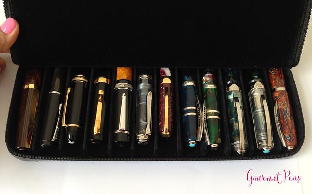 Visconti Zippered Leather Pen Cases @AppelboomLaren @CouronneduComte 8
