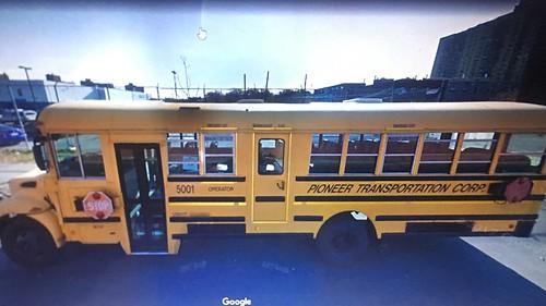 2005 IC CE300, Pioneer Transportation Corp, Bus#5001.