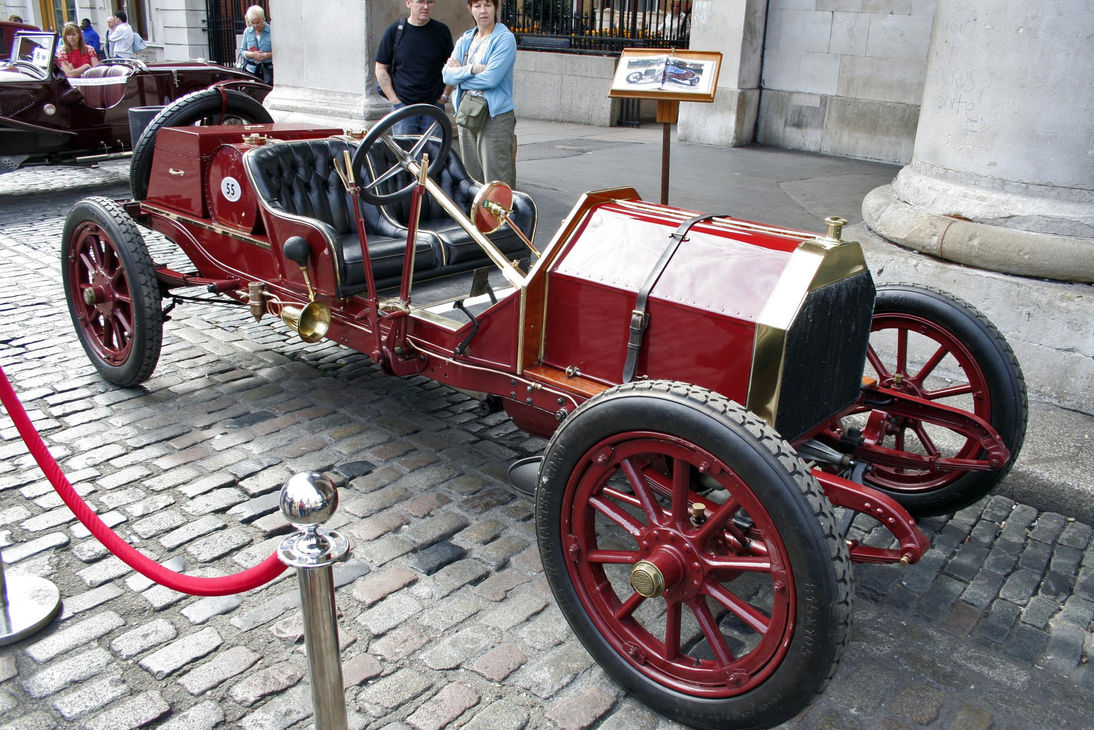 Lancia Gamma-20HP (Tipo 55 Corsa) 1910 in Covent Garden London, 2007