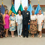 Ju, 09/20/2018 - 13:46 - On Thursday, September 20, 2018, the William J. Perry Center for Hemispheric Defense Studies honored General Salvador Cienfuegos Zepeda, Secretary of National Defense of Mexico, and Escola Superior de Guerra (ESG), National War College of Brazil, with the 2018 William J. Perry Award for Excellence in Security and Defense Education. Named after the Center's founder, former U.S. Secretary of Defense Dr. William J. Perry, the Perry Award is presented annually to individuals who and institutions that have made significant contributions in the fields of security and defense education. From the many nominations received, awardees are selected for achievements in promoting education, research, and knowledge-sharing in defense and security issues in the Western Hemisphere. Awardees' contributions to their respective fields further democratic security and defense in the Americas and, in so doing, embody the highest ideals of the Center and the values embodied by the Perry Award.