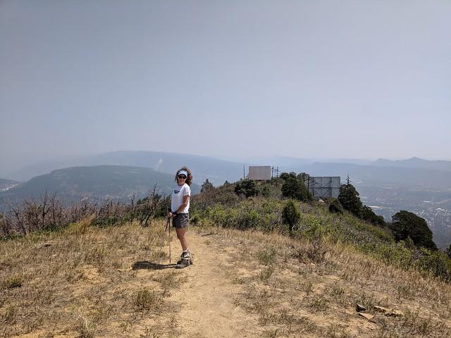Atop Perins Peak