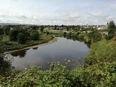 River Tweed at Coldstream, Aug 2018