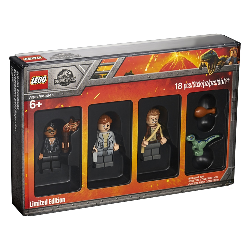 Bricktober 2018 Minifigure Packs unveiled Jurassic World