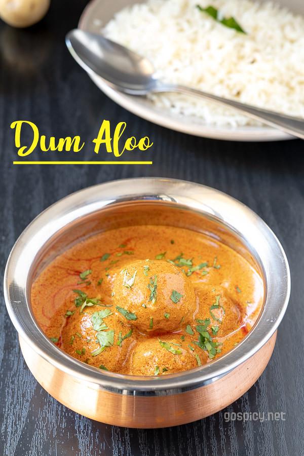 Kashmiri Dum Aloo Recipe by GoSpicy.net
