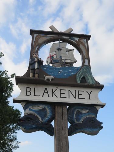 Blakeney town sign
