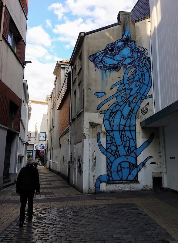 Arte urbano  - 44237722372 8dfb13efcc c - Mechelen Muurt: arte urbano en Malinas.