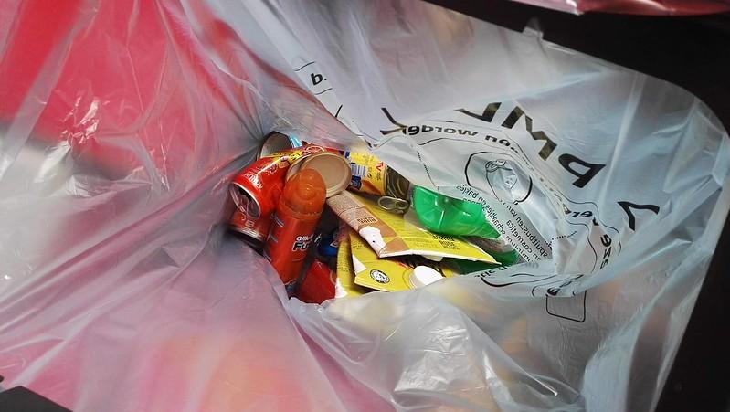 minder PMD-afval