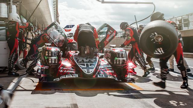 #3 Rebellion Racing Rebellion R-13: Mathias Beche, Gustavo Menezes, Thomas Laurent World Endurance Championship