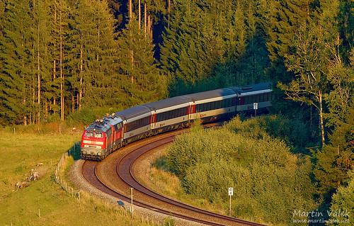 218 428 + 218 416 DB, EC 190, Biessenhofen - Günzach (Germany)