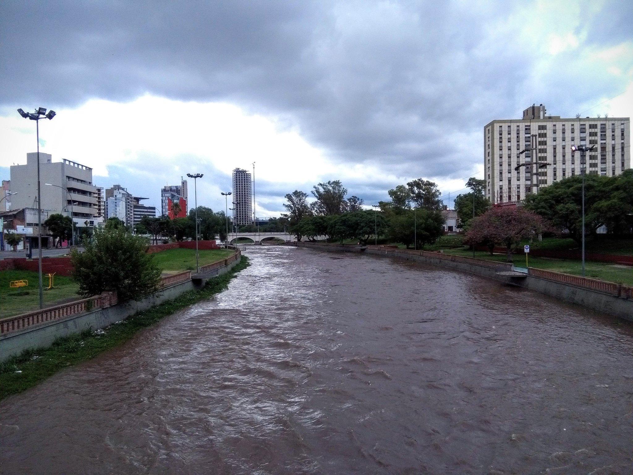 Río Suquía in Córdoba