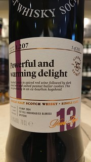 SMWS 1.207 - Powerful and warming delight