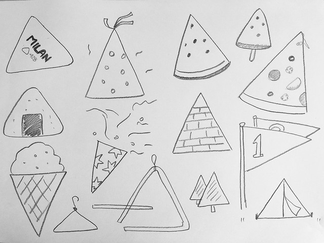 드로잉교실 레슨 3 - 도형과 그림 1/연상되는 것을 그려보자 2
