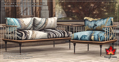 Trompe Loeil - Nellah Couch & Chair Set for Collabor88 September