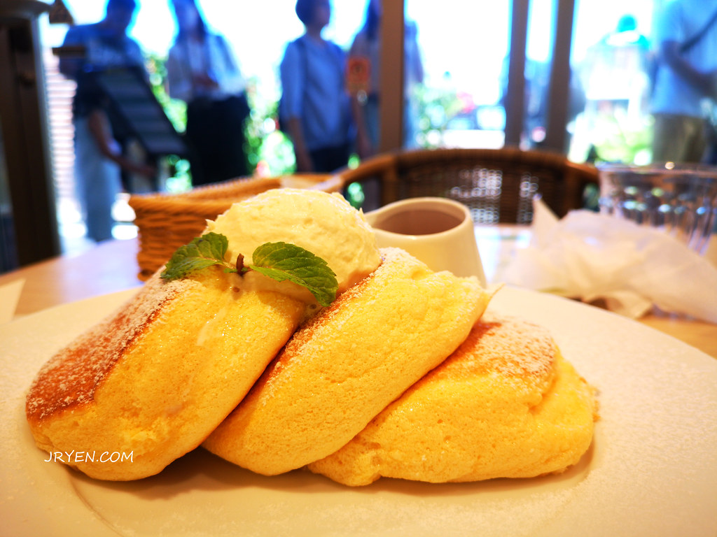 沖繩必吃甜點-瀨長島幸福鬆餅