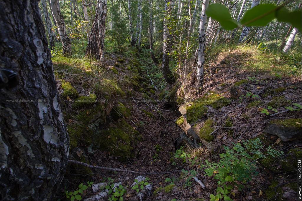 Вишневогорский рудник: штольня №2 горы Каравай