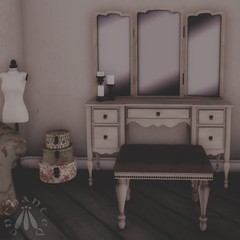 Next, the vanity