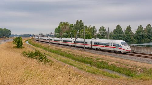 Opheusden ICE3m 4603-4601 omgeleide ICE 405 via BR Basel SBB