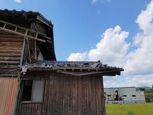 西日本豪雨 愛媛県西予市・宇和島市で災害ボランティア(援人 2018年 0812-19便) Disaster volunteer / Western Japan heavy rain