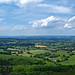View south-east over lush Herefordshire from the Herefordshire Beacon. The Malverns, Worcestershire