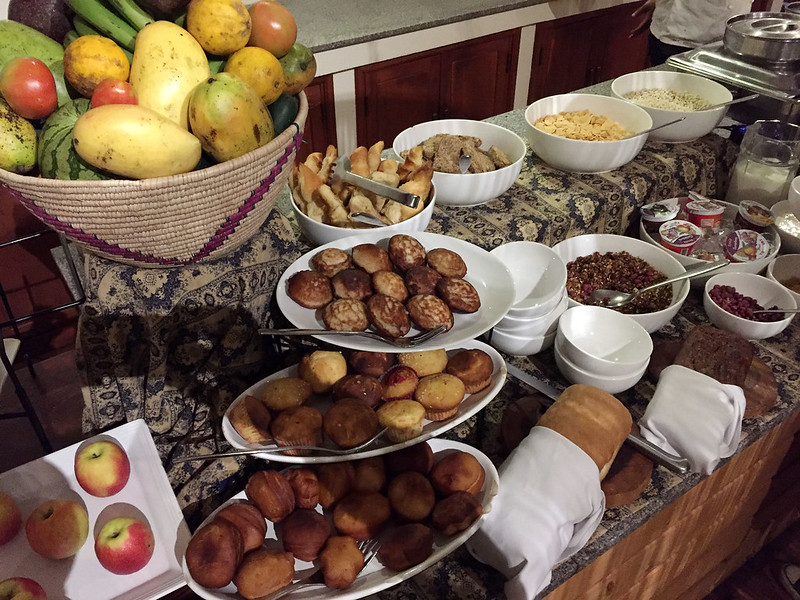 Breakfast at Acacia Farm Lodge