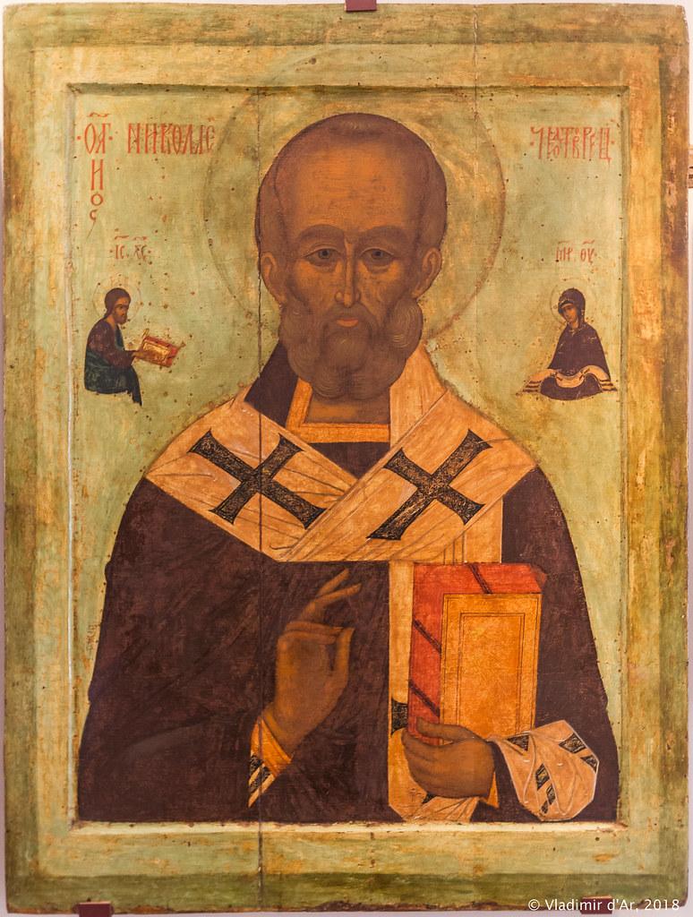 Святитель Николай Мирликийский.