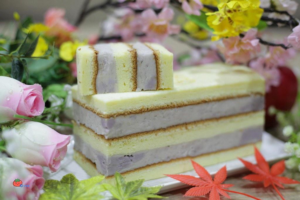 基隆連珍糕餅店 百年老店 芋泥蛋糕