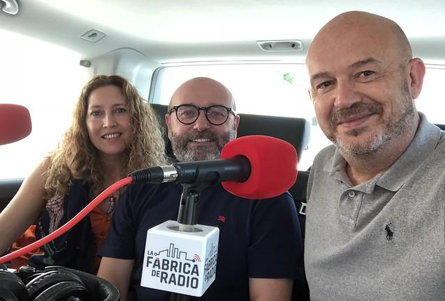 Nacho Maño Gisela Renes Paco Cremades La Fabrica de radio