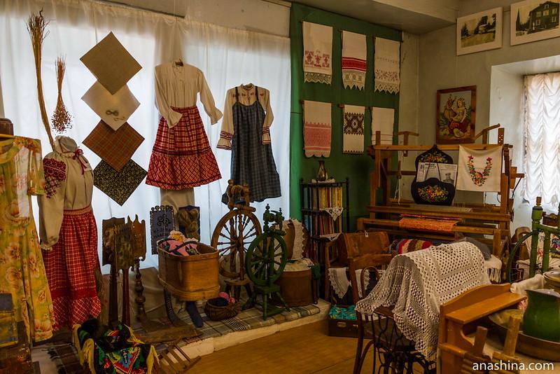 Экспозиция Краеведческого музея Приморска